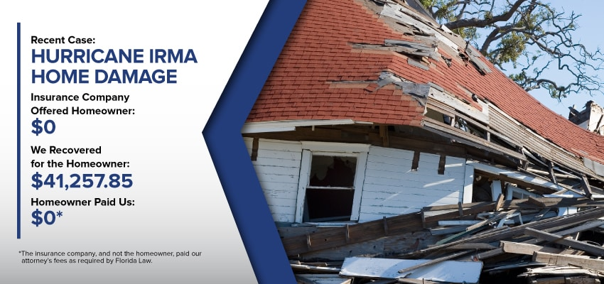 Hurricane Damage Insurance Claim Results Rec Blue